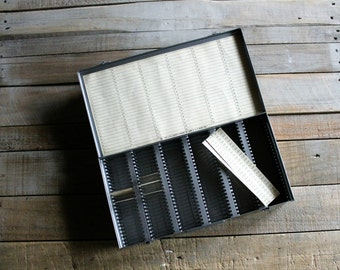 Vintage 35MM Slide Film Container / Holder / Catalog / Storage