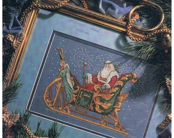 The Enchanted Sleigh Book 1, Cross Stitch Chart by Susan Brack for Leisure Arts