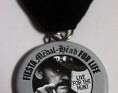 "Lemmy ""Fiesta Medal-Head For Life""  2016 San Antonio Fiesta Medal (Motorhead)"