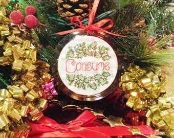 CONSUME ornament - Finished