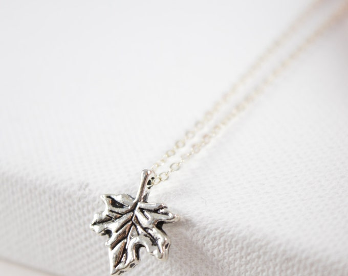 Fall Leaf,Necklace,Leaf,Antique Necklace,Fall Necklace,Autumn,Fall,Woodland,Wedding Jewelry