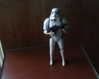 """Star Wars 1997 Collectibles Talking Clone Trooper 14 """" Figure"""