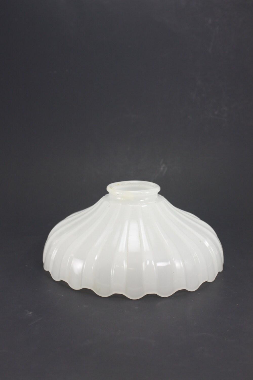 Vintage White Milk Glass Lamp Chandelier Torchiere Shade