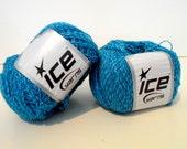 Teal Ice Yarns, Aspen Alpaca Knitting Yarn, 2 Ply Fine Weight, Made in Turkey, Y171