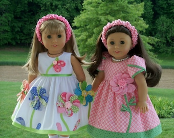 PDF Sewing Pattern / SWEET PEA /  Summer Dresses for American Girl®  Maryellen, Kit, Molly