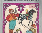 Famous Fairy Tales to Color Vintage USED Coloring Book, C1978