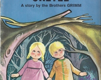 Hansel and Gretel A Story by the Brothers Grimm Vintage Children's Book, 1967