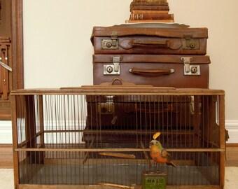 Vintage Birdcage / Wedding Bird Cage / Large Birdcage
