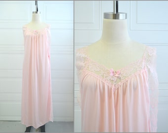 1970s Glencraft Pink Night Gown