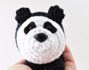 Crochet Panda Pattern, Amigurumi Pattern, Panda Pattern, DIY Panda Craft