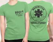 Nurse Shirt, FREE SHIPPING, Harry Potter Shirt for women, Harry Potter T-Shirt, St Mungo's Hospital for Magical Maladies and Injuries