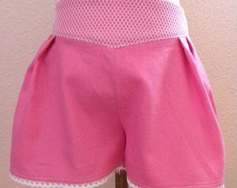 Linen girl shorts
