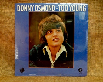 SEALEd...Sealed...Donnie Osmond - Too Young - 1972 Vintage Vinyl Record Album