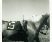 "Vintage Photo ""The Rodeo Beast Wears #5"" Snapshot Antique Photo Black & White Photograph Found Paper Ephemera Vernacular - 166"
