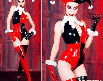 Harley Gloves + Cuffs XS/S Artifice Clothing - Harley Quinn Cosplay