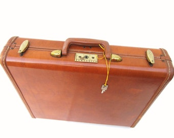 Vintage Samsonite Briefcase, Travel Case, Samsonite Suitcase, Hard Case, Storage Pouch, Movie Prop