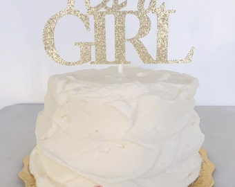 It's A Girl // It's A Boy // Baby Shower // Gender Announcement // Cake Topper // Photo Shoot Prop