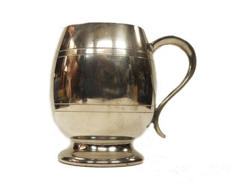 Vintage Pewter Pint Tankard Vintage Pewter Mug English Pewter Sheffield, England