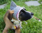 Shark Costume Hat for Pets, Ready To Ship, Crochet Pet Hat, Shark Accessories, Cat Hat, Dog Hat, Pet Clothes, Halloween Costume, Shark Week