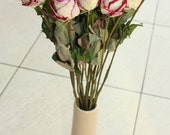 20 Dried Roses - Natural Color - Roses for Weddings, Luck-Love-Romance and all other Matters of the Heart - Flower Bouquet