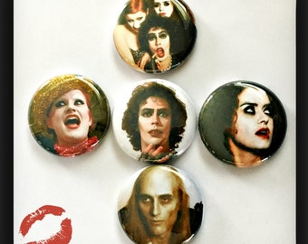 "Rocky Horror Picture Show - 1"" Button Choose Your Own"