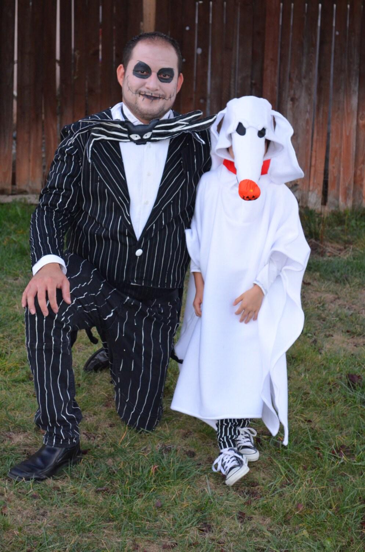 Zero Nightmare Before Christmas Halloween Costume ✓ The Halloween ...