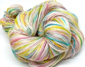 CANDY DOTS hand painted superwash merino sock yarn