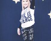 She is Fierce Leggings