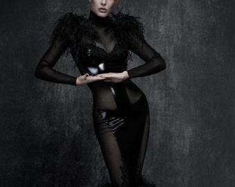 Coalition 1214 Avant-garde Fetish Couture Dress / Gown