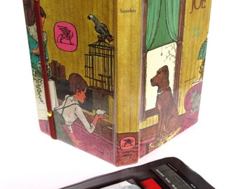 Classic Book Tablet Case Made from Beautiful Joe Dog Story, Fits iPad Mini, Kindle Fire HD7, Nook Color, Galaxy Tab