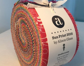 Sun Prints 2016 by Allison Glass Jelly Roll