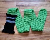 Lightsaber Scarf Pattern, Crochet Pattern