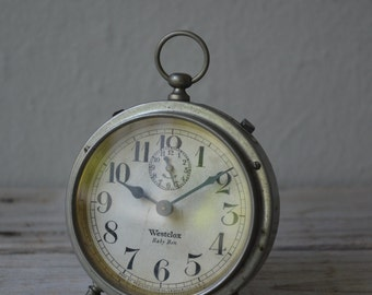 Antique Baby Ben Alarm Clock