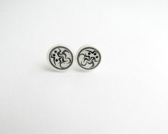 Triathlon  Stud Earrings