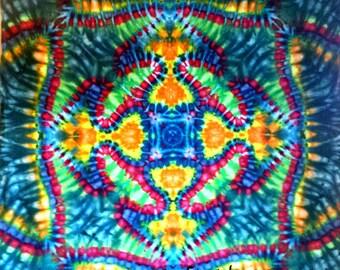 Tie Dye Tapestry Psychedelic Art