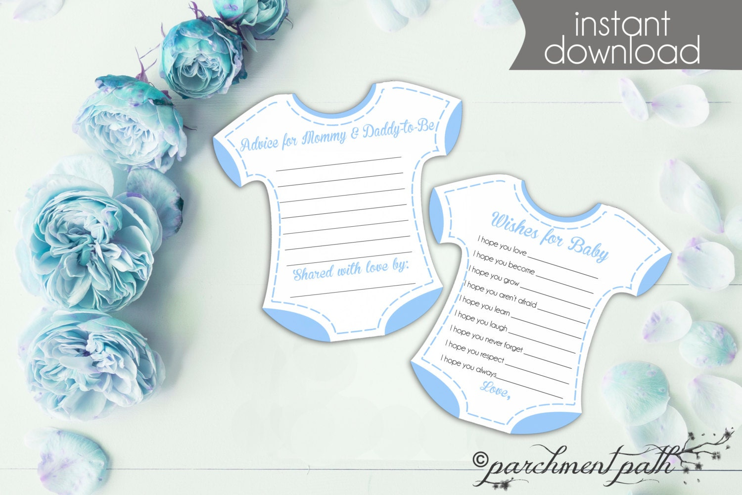 baby shower game baby boy wishes shower keepsake and advice