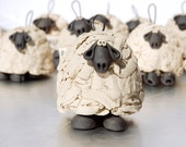 Sheep Ornament Bell for your home or a gift for a sheep loving friend