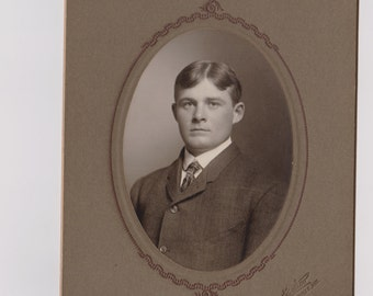 Victorian Gentleman, Victorian Man CDV, Antique Man Photo, Young Man, Dapper Man, Handsome Man, Man Photograph, 1800s Photography