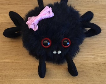 The Spider - Decorative Doll - Uncanny Creature - Handmade and OOAK /Ready to ship/ Quirky Uncanny Scary Creepy Cute