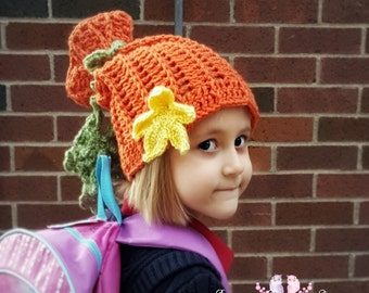 PATTERN: Emilee's Fall Favorite - A Convertible Hat - All Sizes
