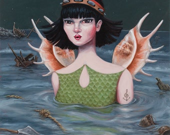 Siren - Fine Art Print