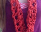 Infinity scarf scarlet infinity scarf accessory