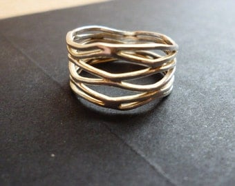 Sterling Silver Spacious Band