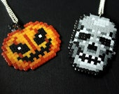 Pumpkin and Skull - Accessory