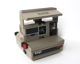 Vintage Polaroid Camera, Amigo Land Camera
