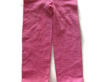 Stretchy Tutu Capris in Hot Pink and Bubblegum Pink toddler girl's, tutu capris, pettiskirt capris, tutu tights, toddler leggings, girl's