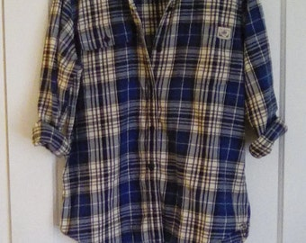 90s Ralph Lauren Vintage Plaid Flannel M