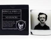 Scented Candle - Edgar Allan Poe - Nevermore - 11oz