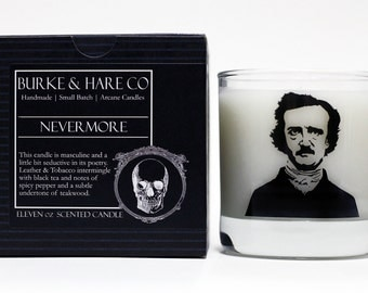 Scented Candle - Edgar Allan Poe - Nevermore - 11oz