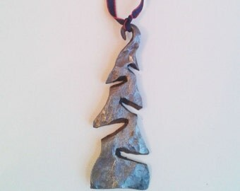 Blacksmith made Christmas Tree ornament